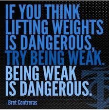Being Weak is dangerous