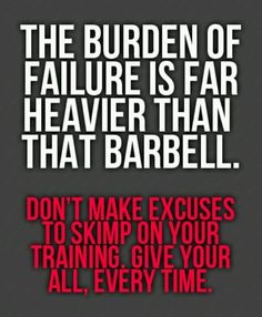 Burden of failure