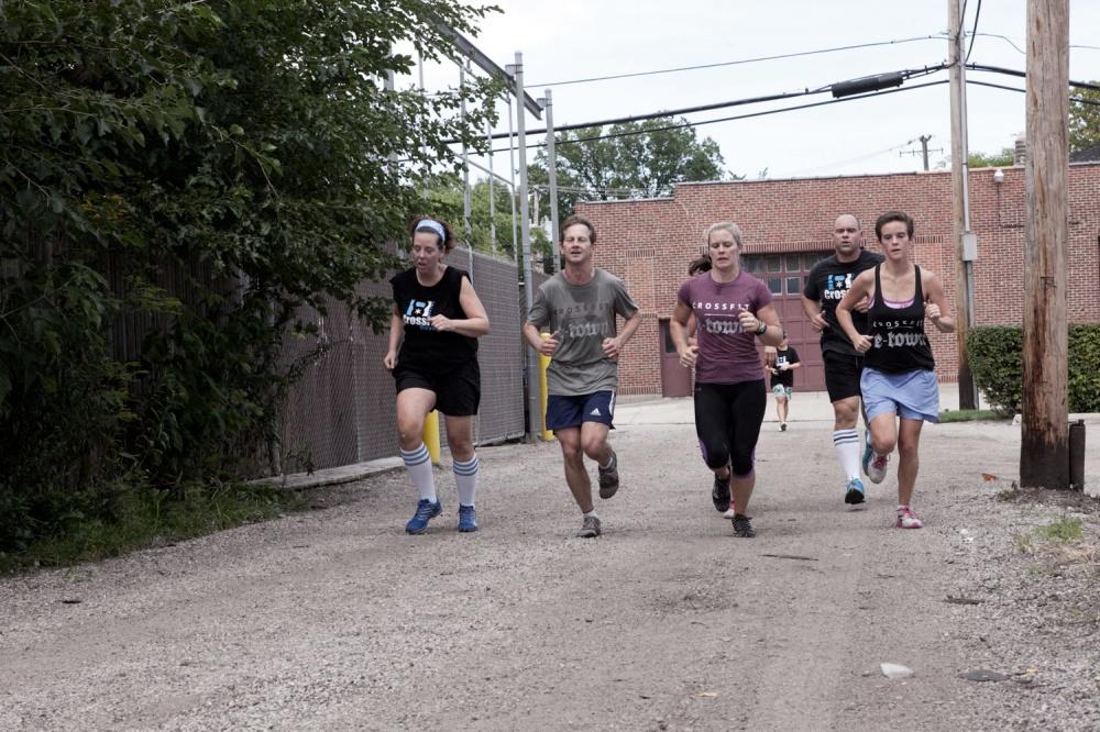 CrossFit Beverly Team WOD
