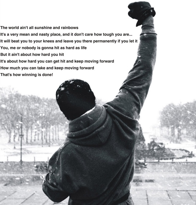 CrossFIt Beverly Rocky Quote  August 6 2012
