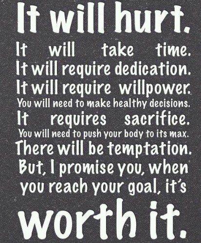 Hurt is worth it