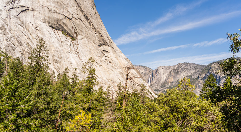 John Muir Trail, Yosemite National Park:  What's better than massive granite walls and waterfalls so large it's hard to even comprehend? Nothing. Don't even try to think of something, you won't find it.