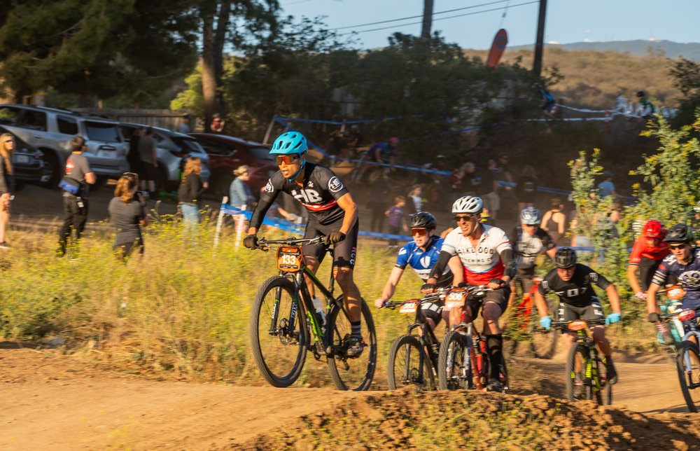 Seeing the group rolling through coming down the pump track like a snake was pretty awesome. Plenty of crashes all throughout the first lap.