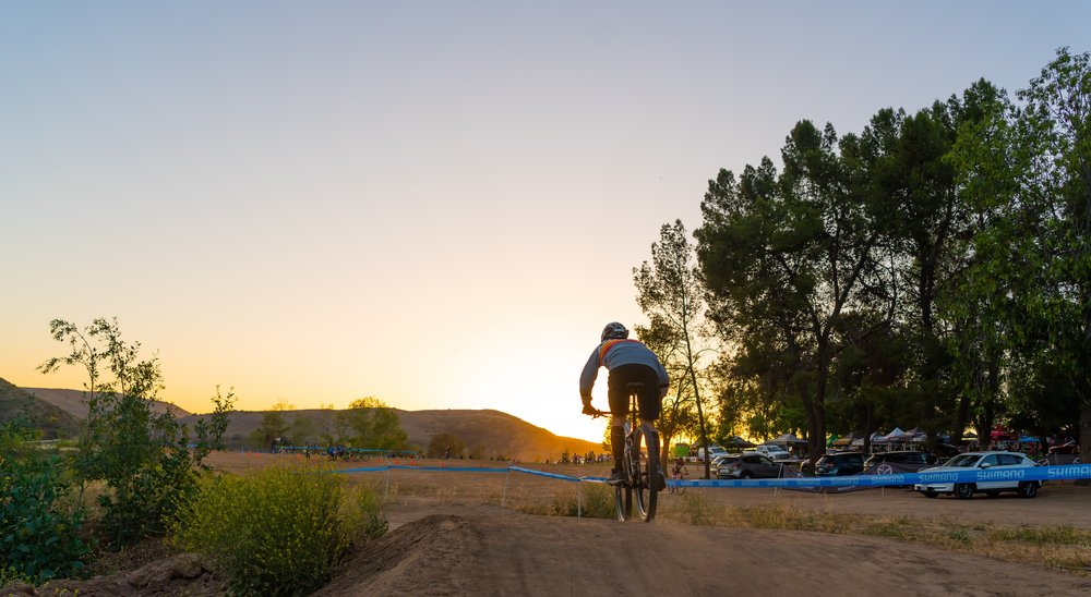 As the night came to a close I decided to shoot from a different angle as the sunset started to roll in, I'd say it turned out pretty badass catching the last couple of riders coming through the pump track.