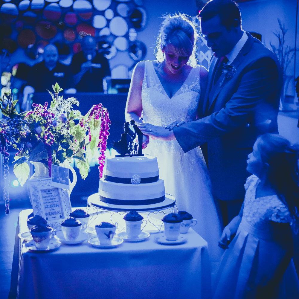 CUTTING THE CAKE -