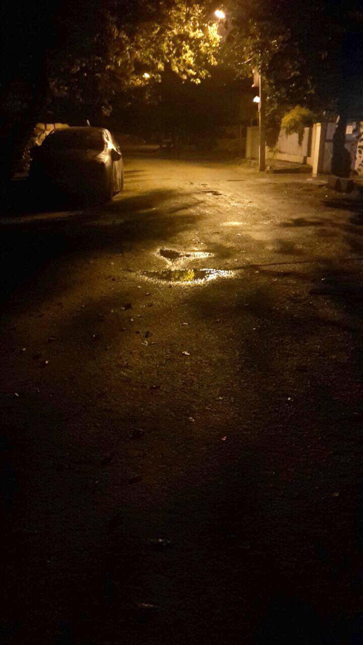 Action Hero Vrushali - Yelahanka New Town main road, Bangalore