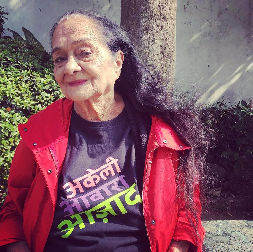 Akeli Awaara Azaad/On her own, Unapologetic, Free.T shirts available for sale here -