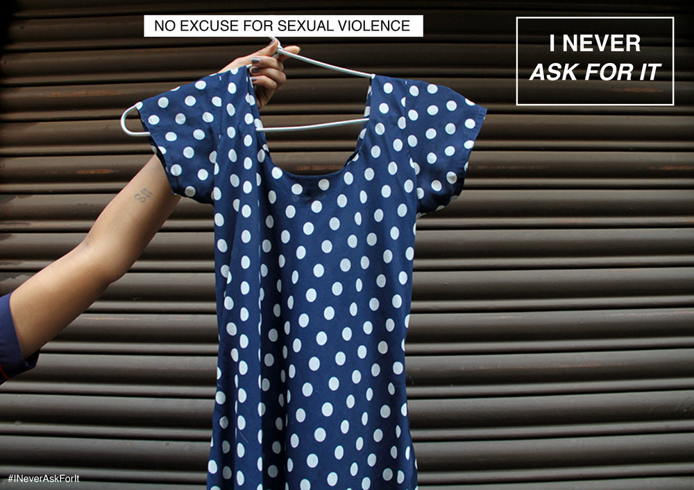 You - Building I Never Ask For It as an individual.You can volunteer/ intern or send your garment at this link.