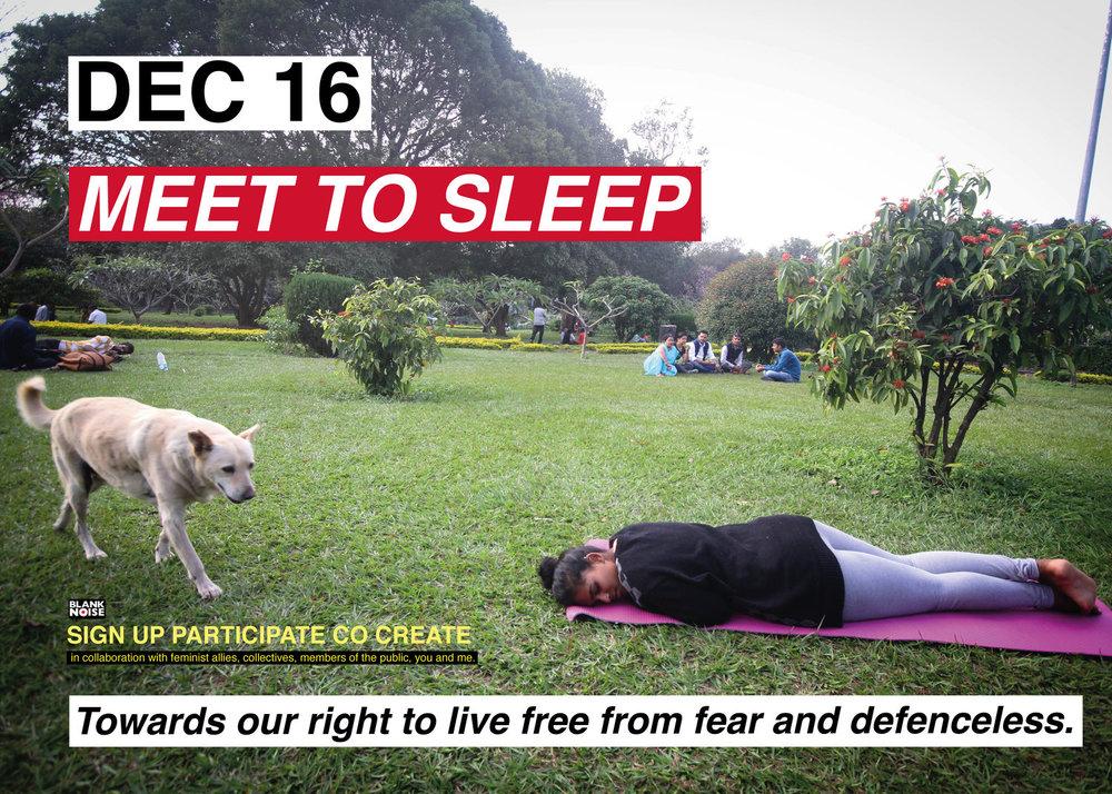 Meet To Sleep 2018