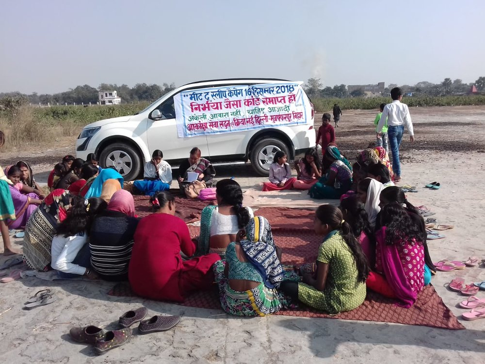 Akanksha Seva Sadan, Muzzafarpur , in association with CREA