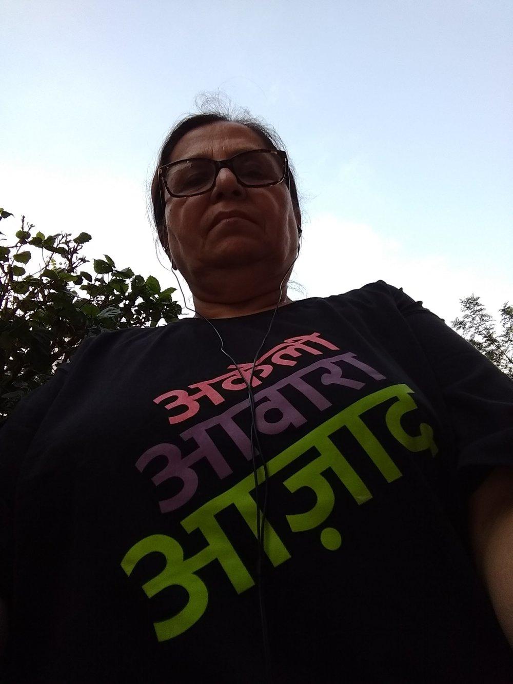 Action Shero Dipali Taneja, Bangalore