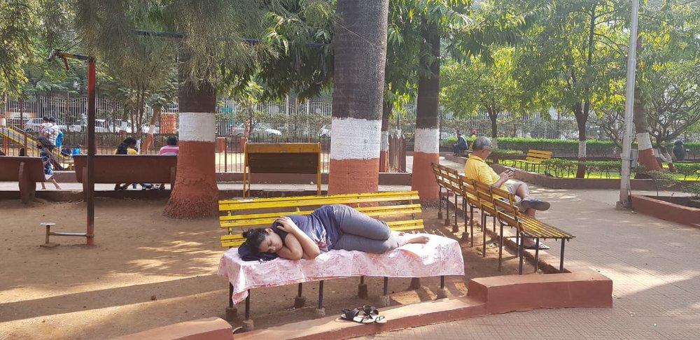 Meet To Sleep 2018, Mumbai , Why Loiter , Diamond Gardens, Chembur . Credit: Sameera Khan and Shilpa Phadke