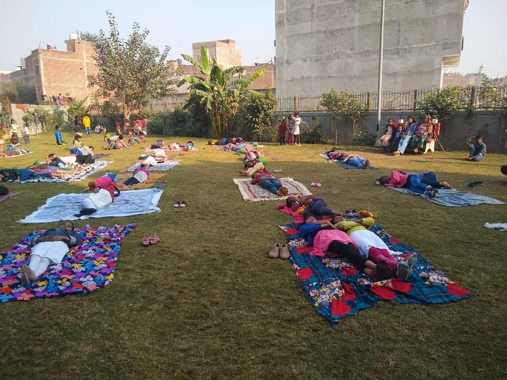 Meet To Sleep 2018, Delhi , Plan India, AV Baliga Trust in association with One Billion Rising Delhi
