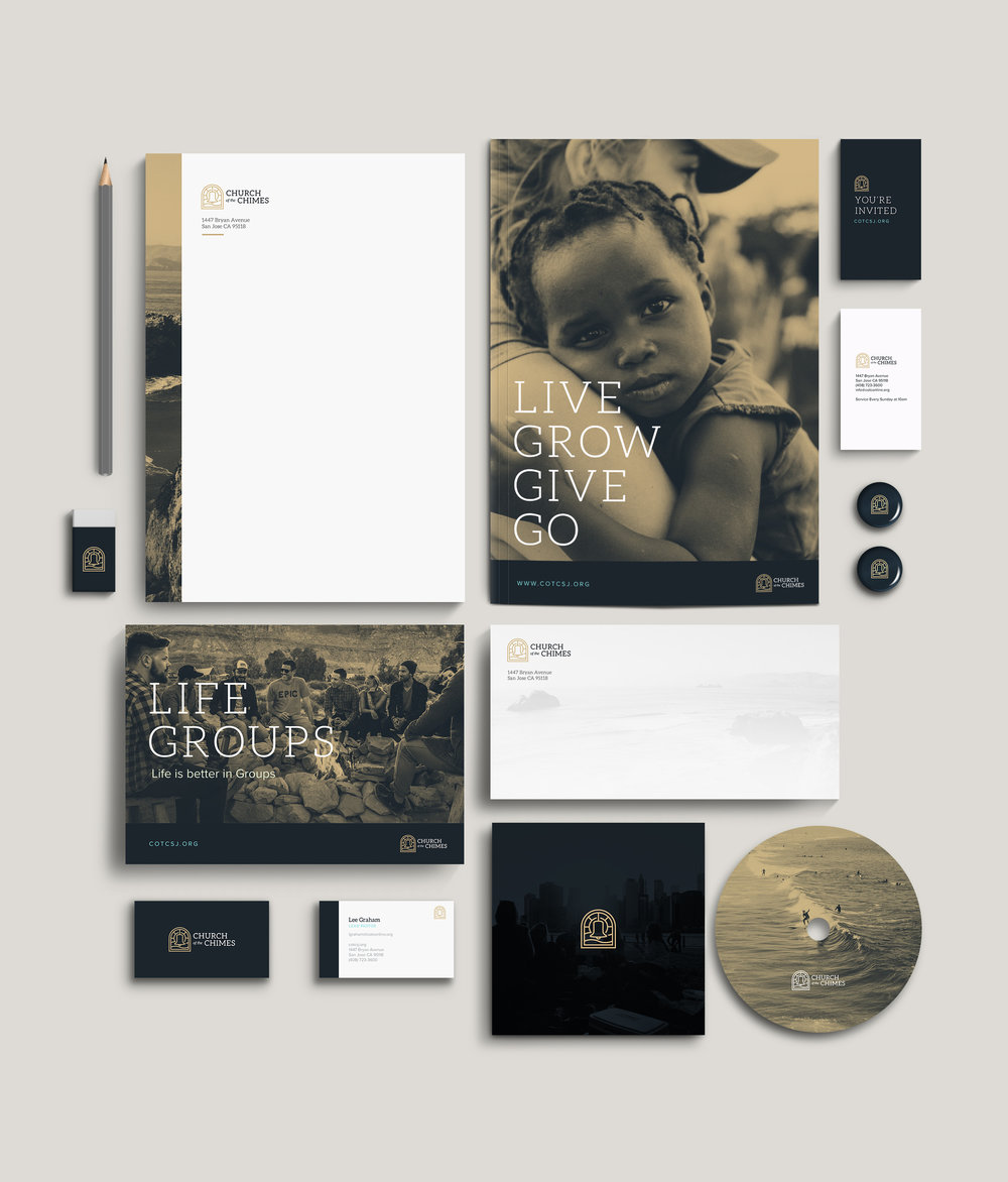 Brand and style guide for Church of the Chimes