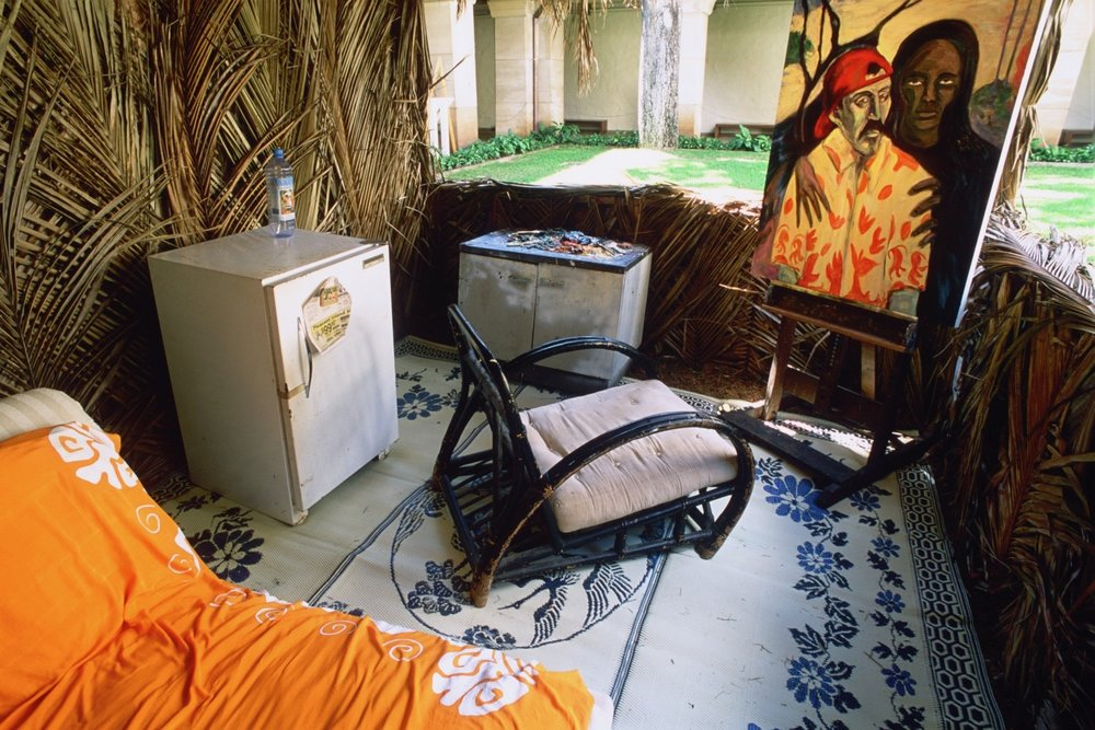 Gauguin's Zombie- Honolulu Museum
