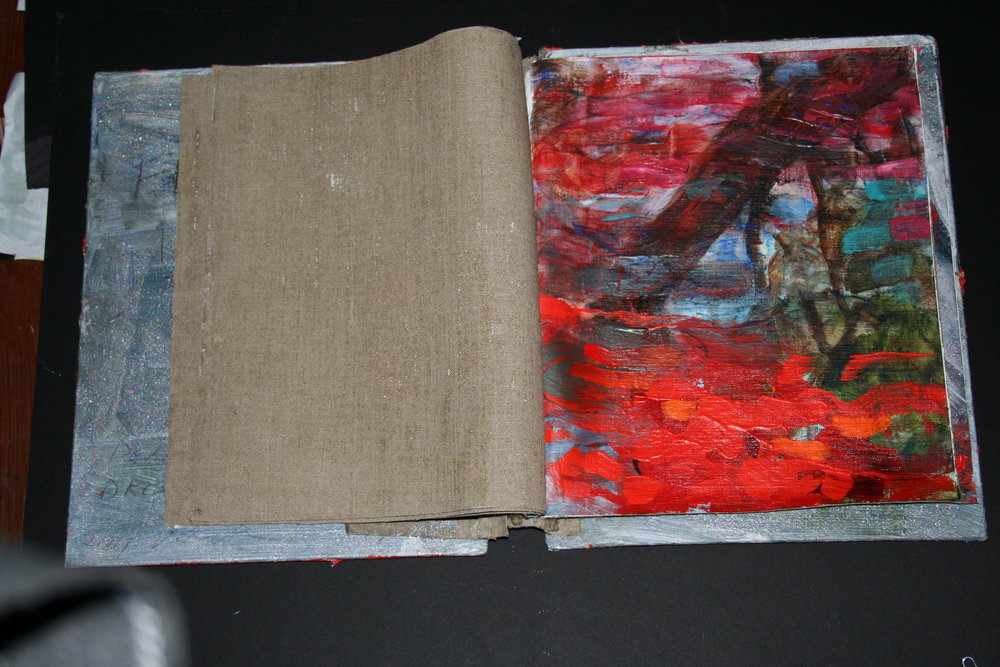 Flight into Red, Artist Book
