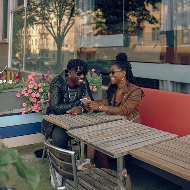 """Communication is key. You should always express your wants and how you feel to your partner. You should both be on the same page and understanding when it comes to any situation that you will go through together."" — @kris_loaf designer of @thirdcrown. 