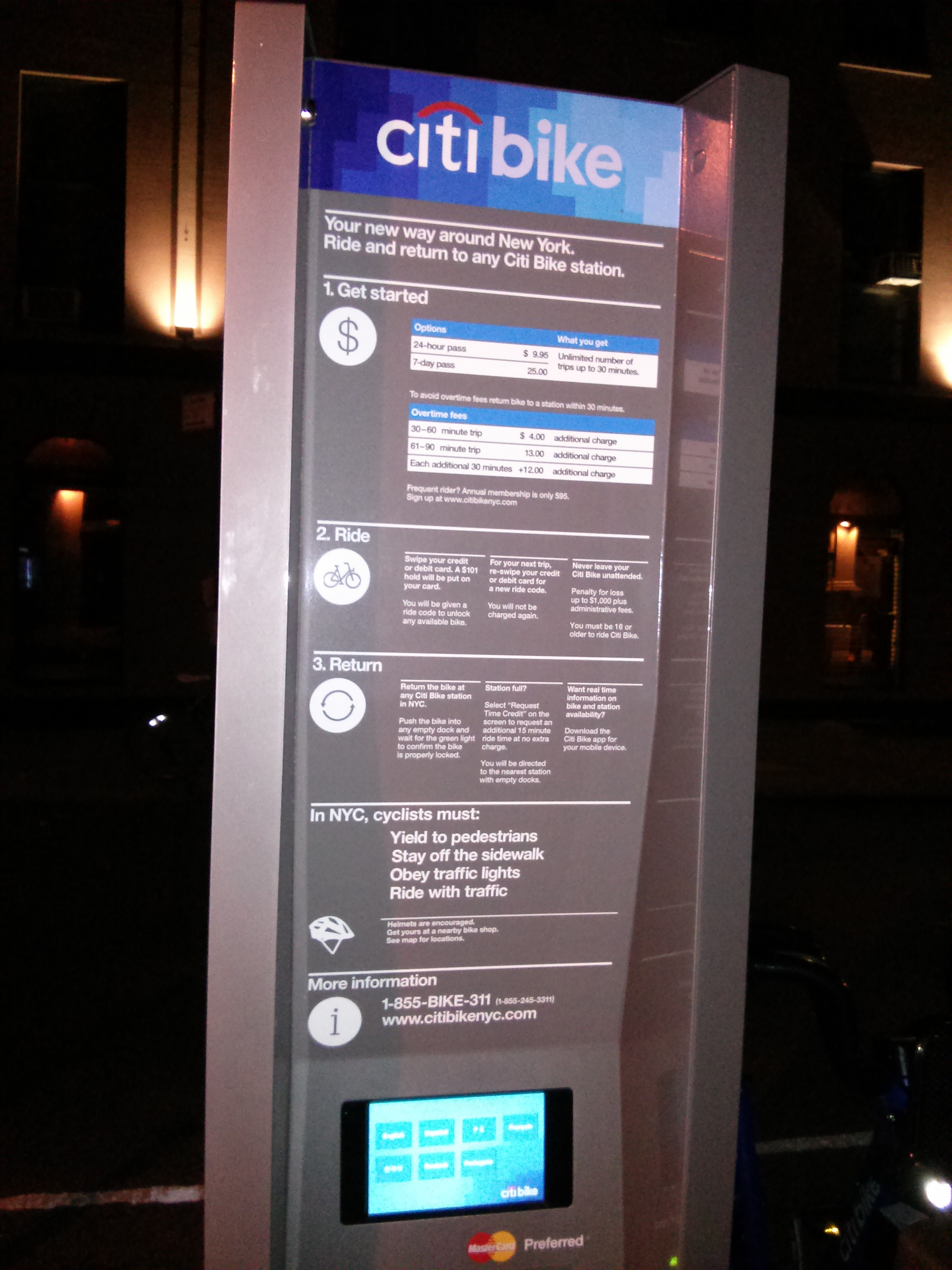 how to use citi bike