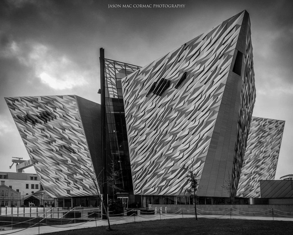 Titanic Visitor Centre Mono