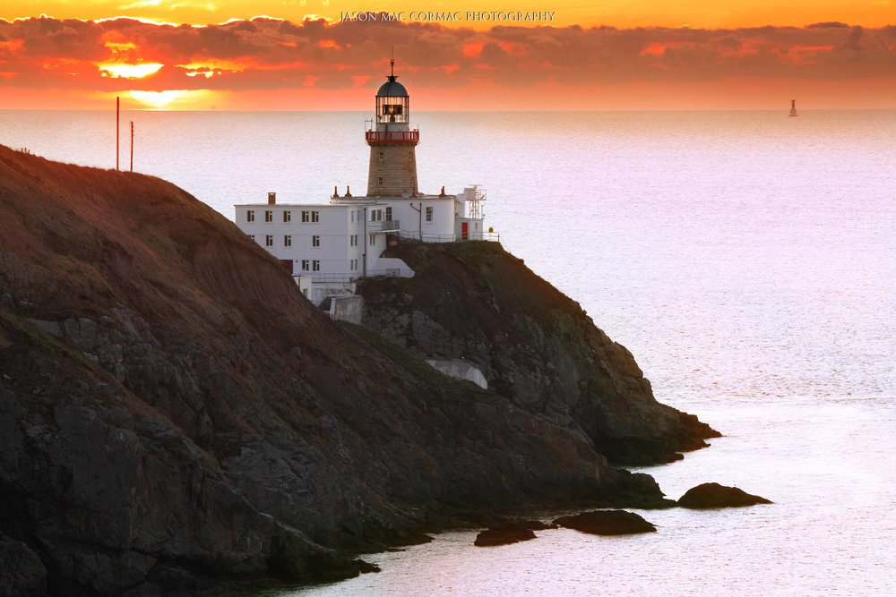 Howth lighthouse Sunrise Dublin Photographer Jason Mac Cormac