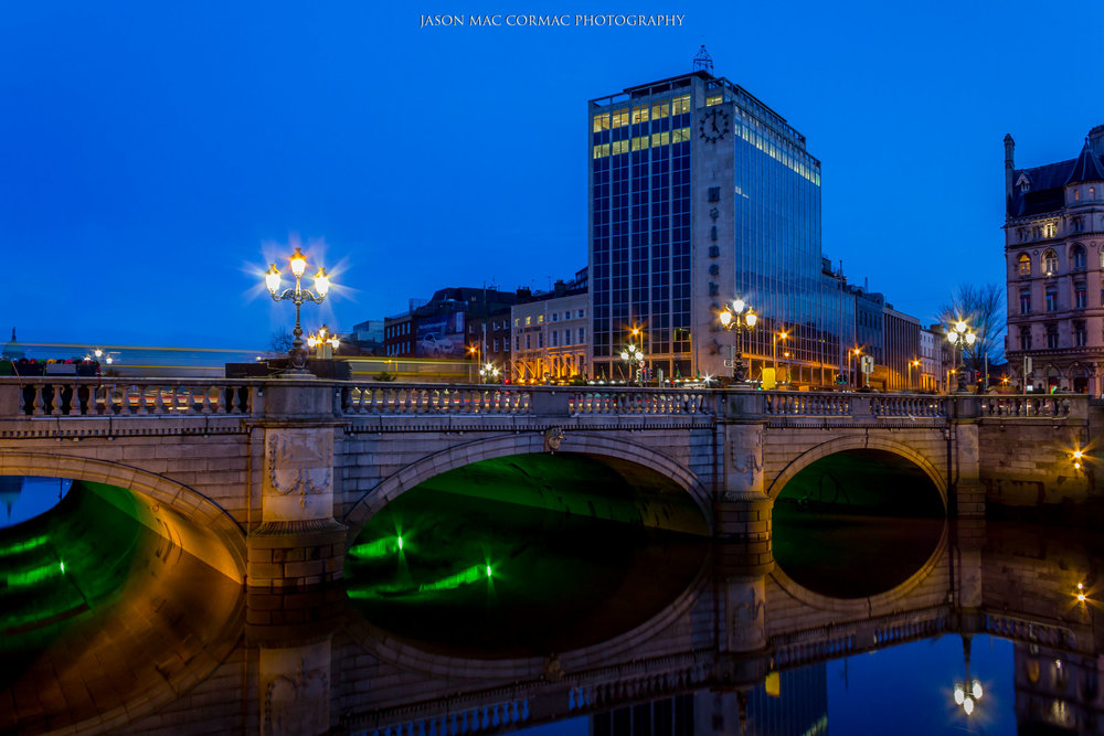 O'Connell Street Bridge Dublin Photographer Jason Mac Cormac
