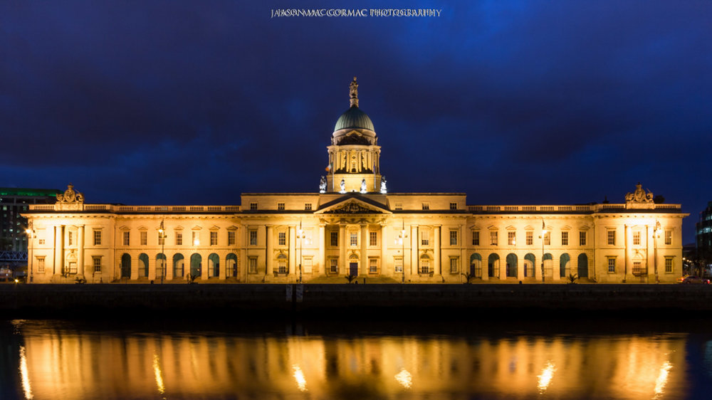 Custom House - Dublin Photographer Jason Mac Cormac