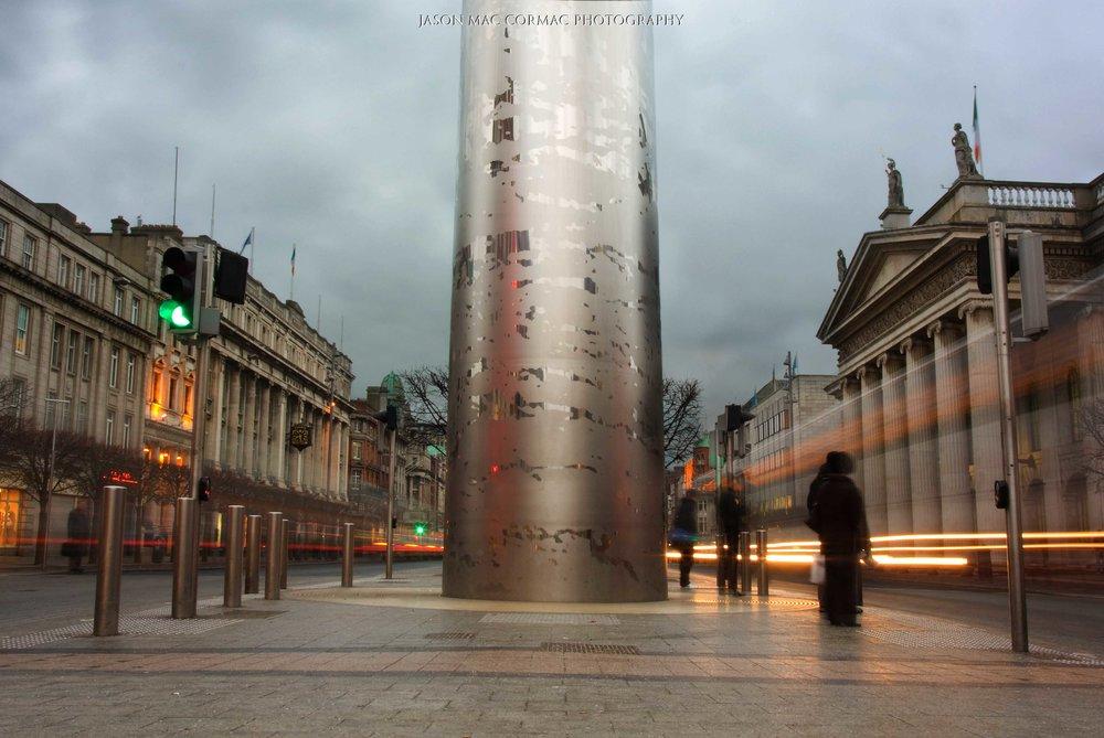 The Spire - Dublin Landscape photographer Jason Mac Cormac