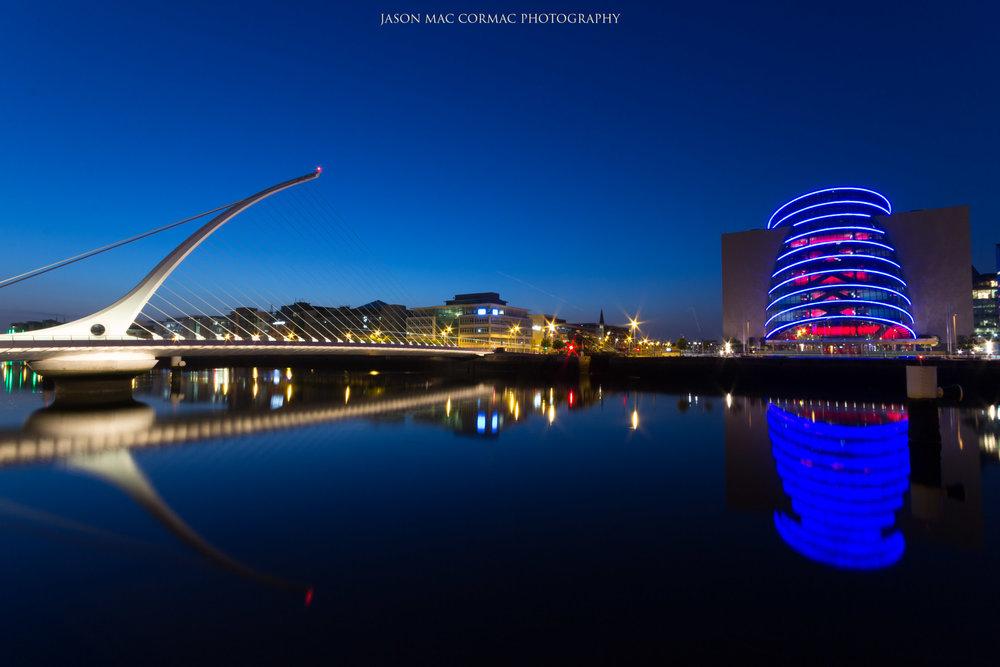 Samuel Beckett Bridge and National Convention Center - Dublin Landscape photographer Jason Mac Cormac