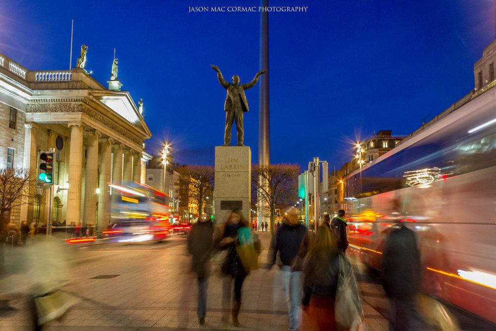 O'Connell Street - Dublin Landscape photographer Jason Mac Cormac