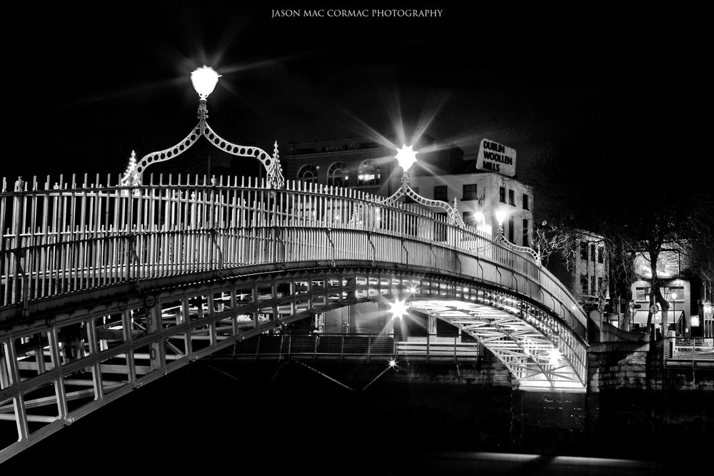 Hapenny Bridge - Dublin Landscape Photographer Jason Mac Cormac