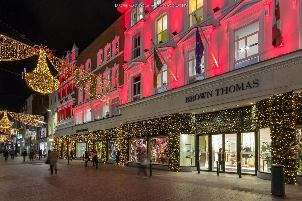 Christmas at Brown Thomas, Grafton Street