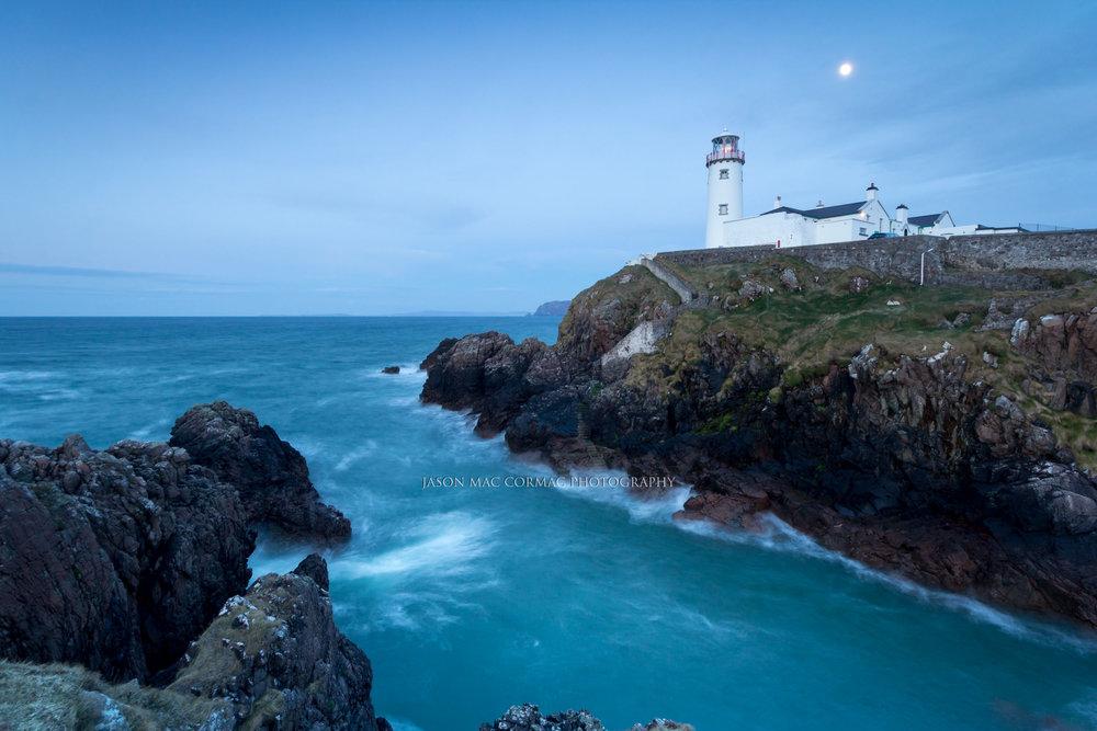 Moonlight at Fanad Head Lighthouse