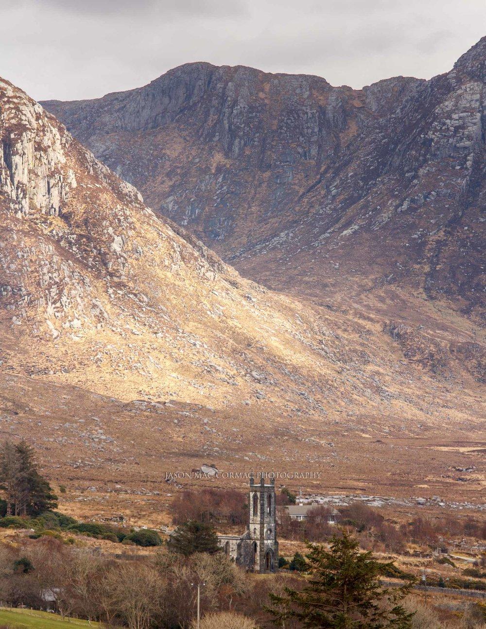 Impressive landscape of Donegal