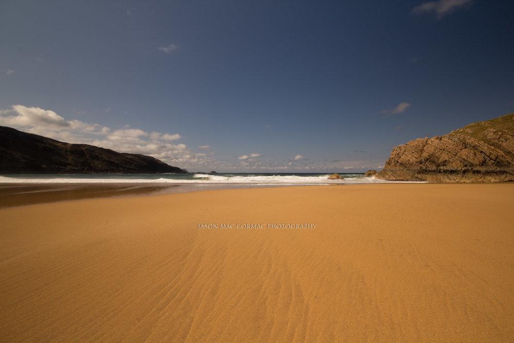 Orange sandy beach - Dublin Photographer Jason Mac Cormac