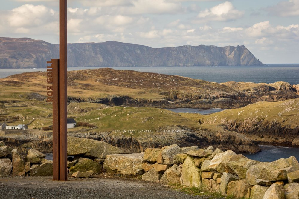Ros Goill Point Donegal