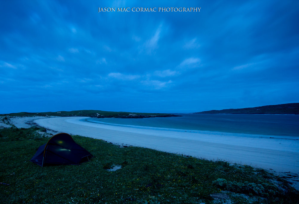 Vango Zenith Pro 200, my own beach front property :)  Image Details: F6.3, ISO 320, 13 seconds.