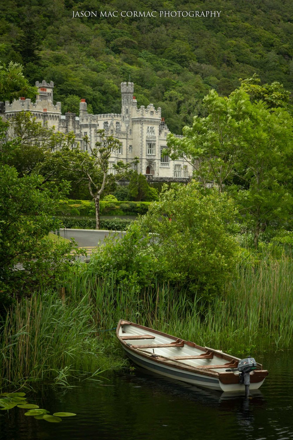 Kylemore Abbey  Image Details: F8, ISO 250, 1/50.