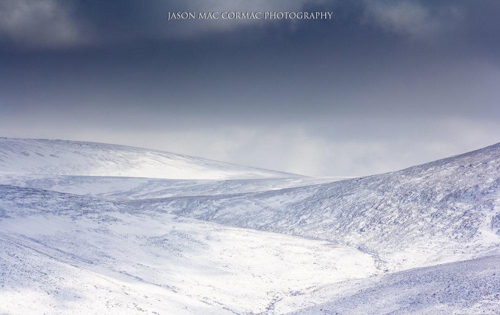 Ireland Mountain Snow