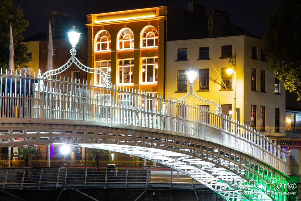 Halfpenny Bridge and the Woollen Mills