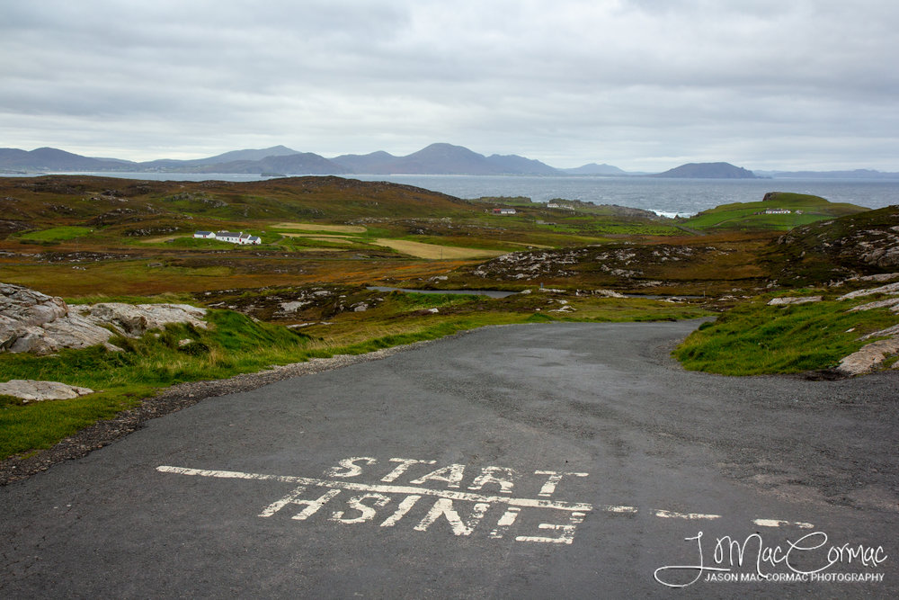 Start or Finish Point of the Wild Atlantic Way