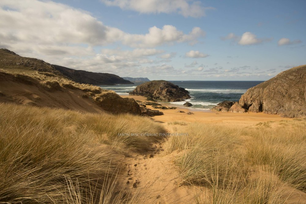 Lovely day for the beach in Donegal