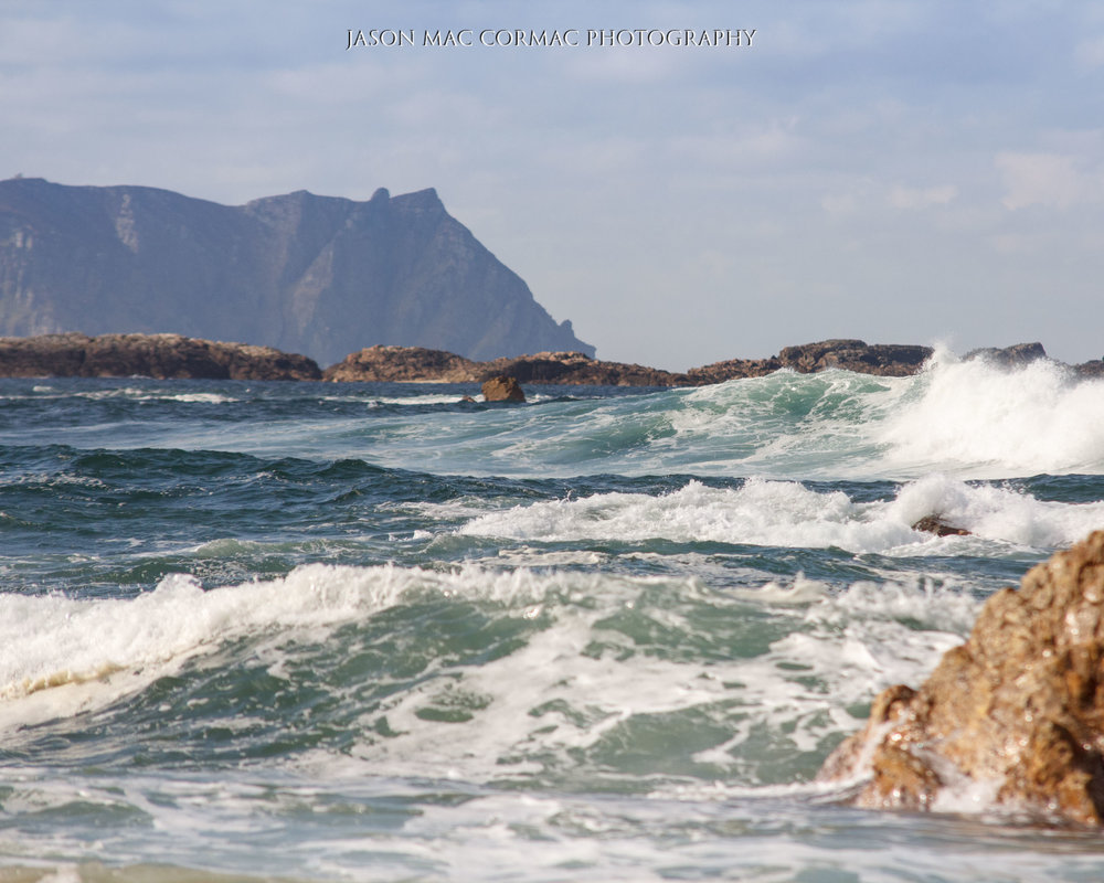 Crashing waves on the Wild Atlantic Way