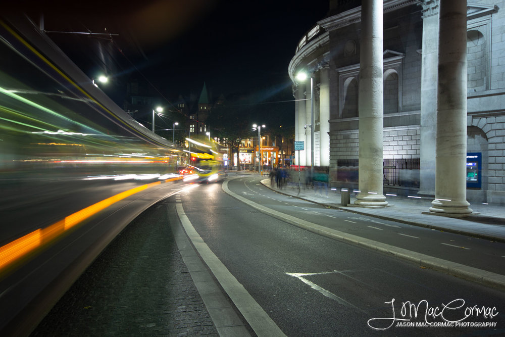 College Green and its new neighbour the Luas