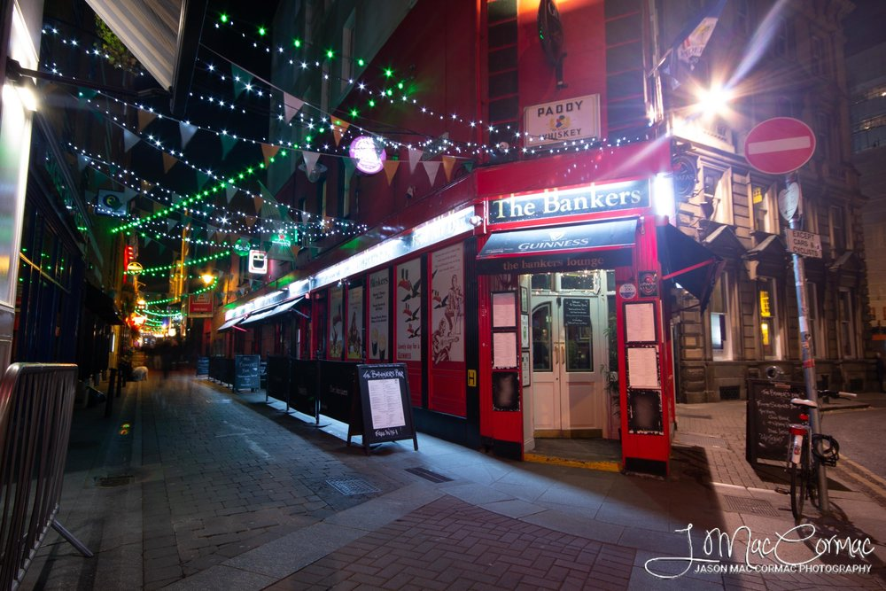 The Bankers pub, probably the best looking pub in all of Dublin