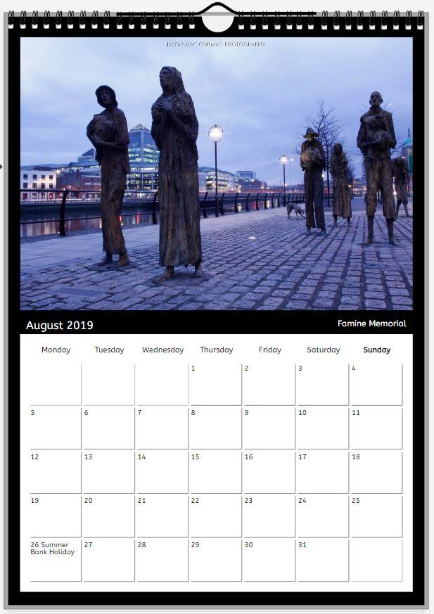 2019 Dublin Calendar - Jason Mac Cormac Photography