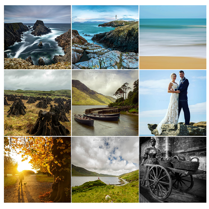 2018 best nine - these are my most popular images posted on Instagram during 2018.  © Jason Mac Cormac Photography