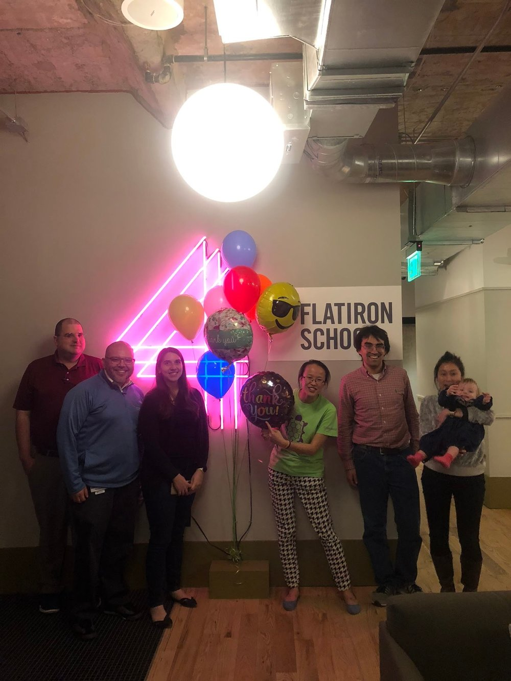 Some of the attendees from our first celebration. Courtesy of Erica Lehotzky. February 20th, 2019.