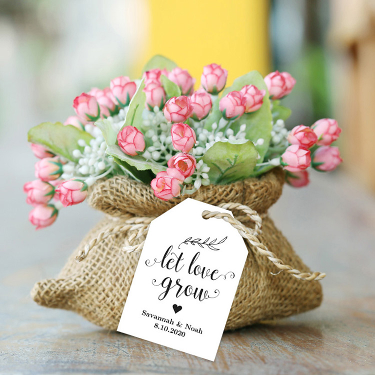 Let love grow favor tags