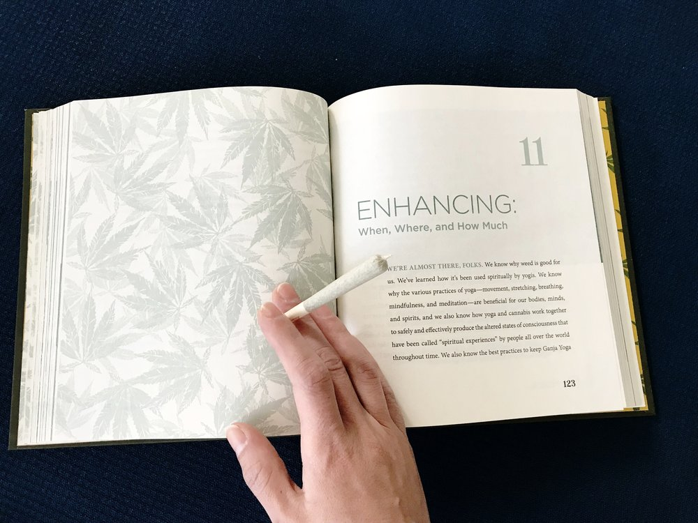 Ganja Yoga  has insightful resources within its pages to help you elevate safely and with intention.