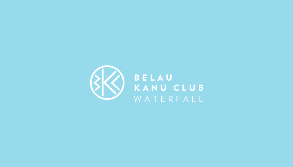 Belau Kanu Club Logo Reversed